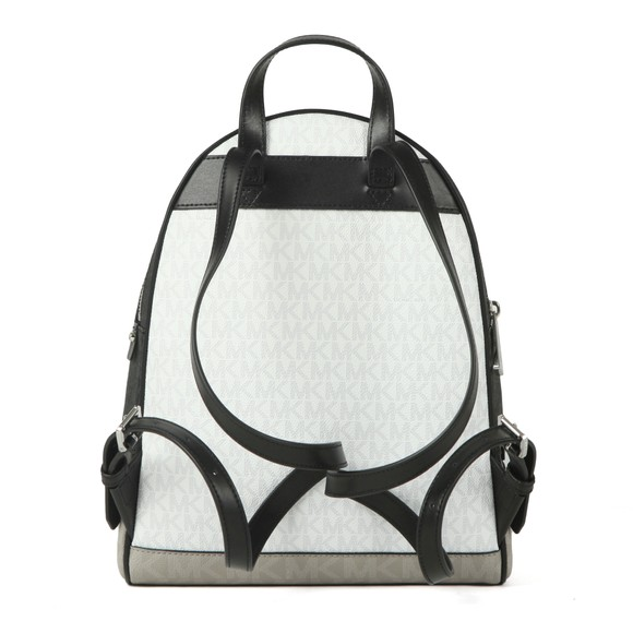 Michael Kors Womens Black Rhea Zip Backpack main image