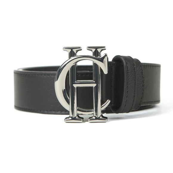Holland Cooper Womens Black HC Leather Belt