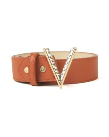 Valentino by Mario Womens Brown Moke Belt