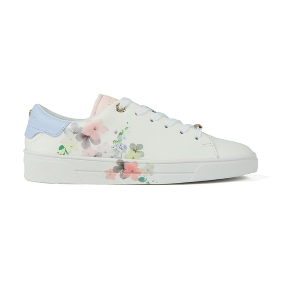 Ted Baker Womens Off-White Lennei Pergola Leather Trainer  main image