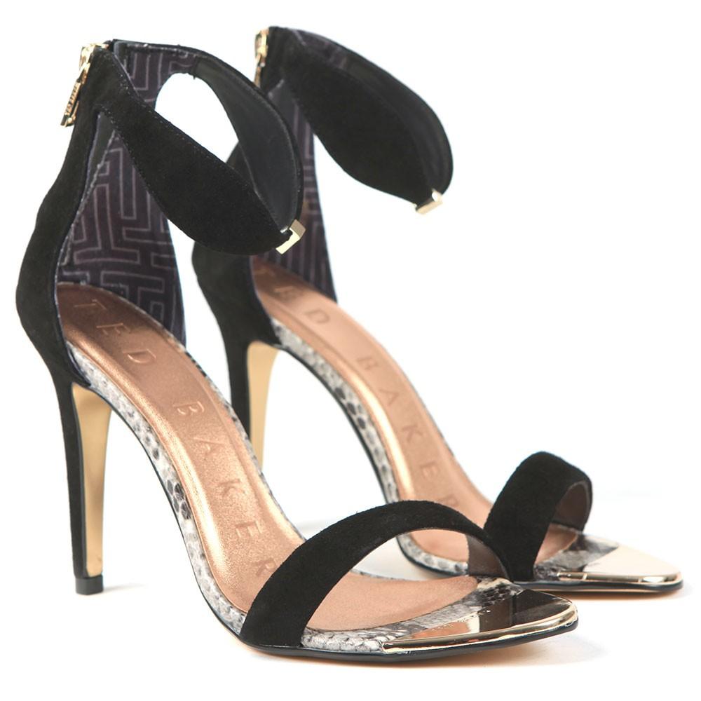Aurelis Suede Bow Ankle Strap Heel main image
