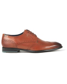 Ted Baker Mens Brown Trvss Brogue Shoe