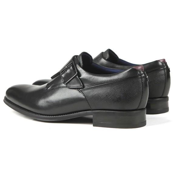 Ted Baker Mens Black Carmo Single Buckle Smart Shoe main image