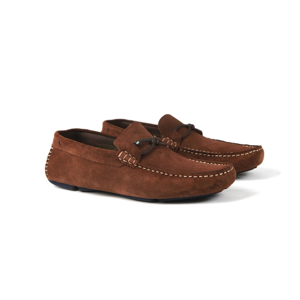 Cottn Suede Driving Shoe main image