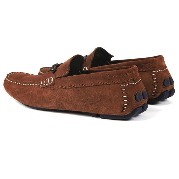 Ted Baker Mens Brown Cottn Suede Driving Shoe main image
