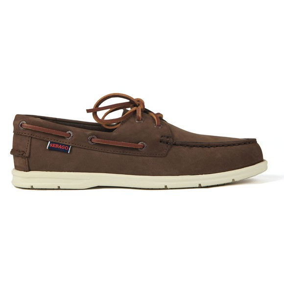 Sebago Mens Brown Naples NBK Boat Shoe main image