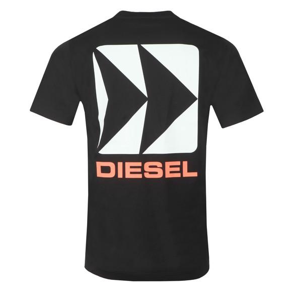 Diesel Mens Black BMOWT Just-B T-Shirt main image