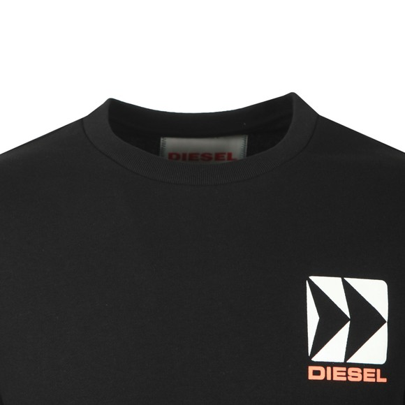 Diesel Mens Black BMOWT Willy Sweatshirt main image