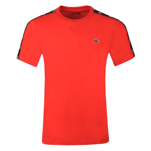 Lacoste Sport Mens Red TH8686 T-Shirt main image