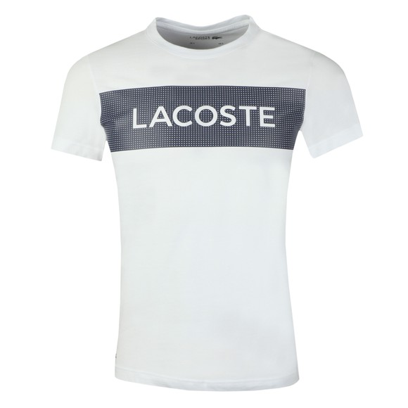 Lacoste Sport Mens White TH4865 T-Shirt main image
