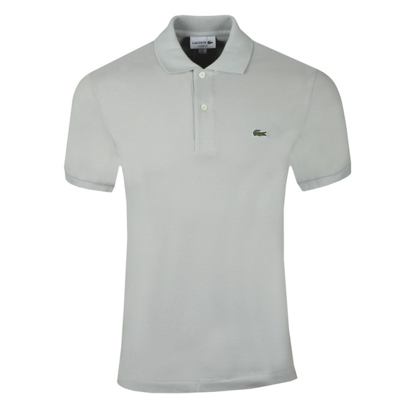 Lacoste Mens Grey L1212 Polo Shirt main image