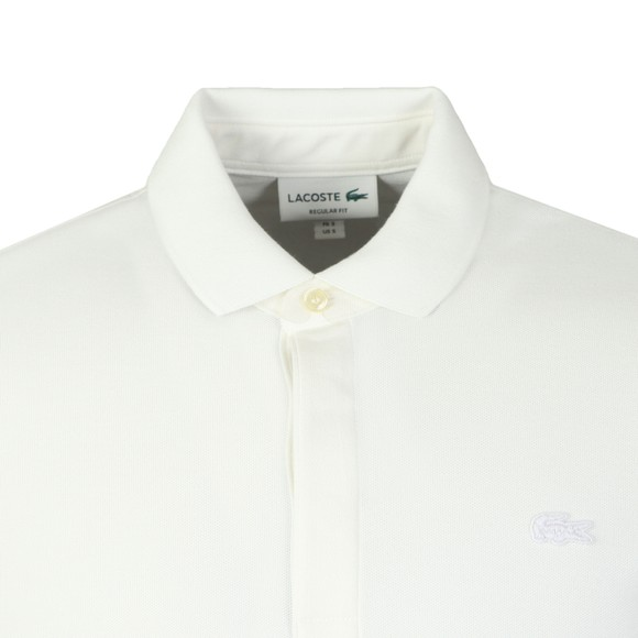 Lacoste Mens White L/S Paris Polo Shirt