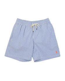 Polo Ralph Lauren Mens Cruise Royal Traveller Seersucker Swim Short