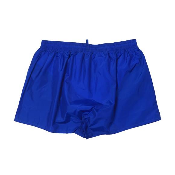 Dsquared2 Mens Blue Big Logo Swim Short