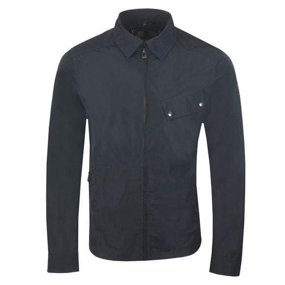 Belstaff Mens Blue Camber Overshirt