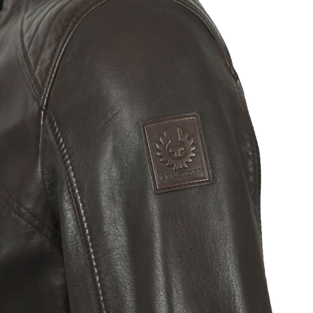 V  Racer Leather Blouson main image