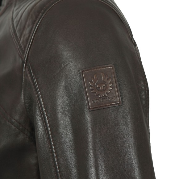 Belstaff Mens Brown V  Racer Leather Blouson