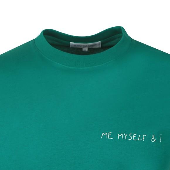 Maison Labiche Mens Green Me Myself & I Heavy T Shirt main image
