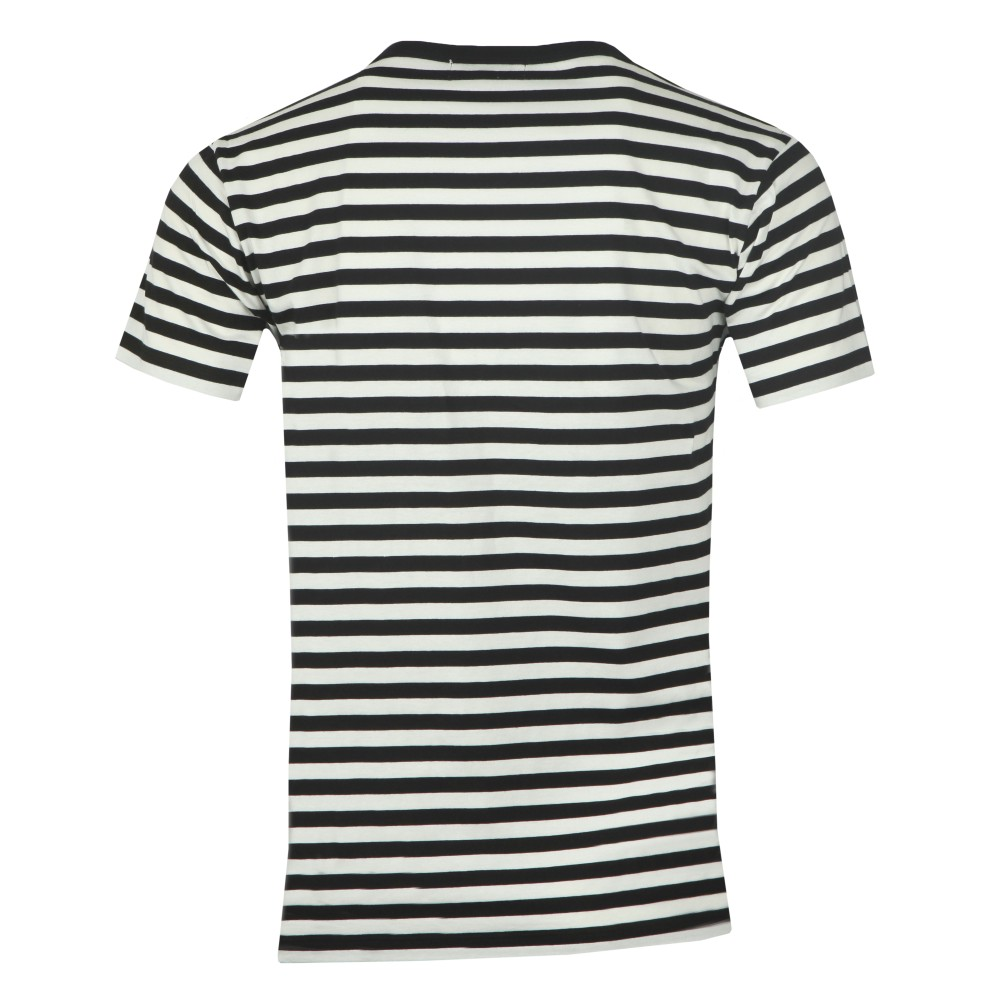Striped Newspaper T Shirt main image