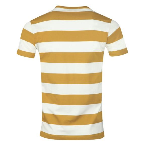 Maison Labiche Mens Brown Outsider Striped T Shirt main image