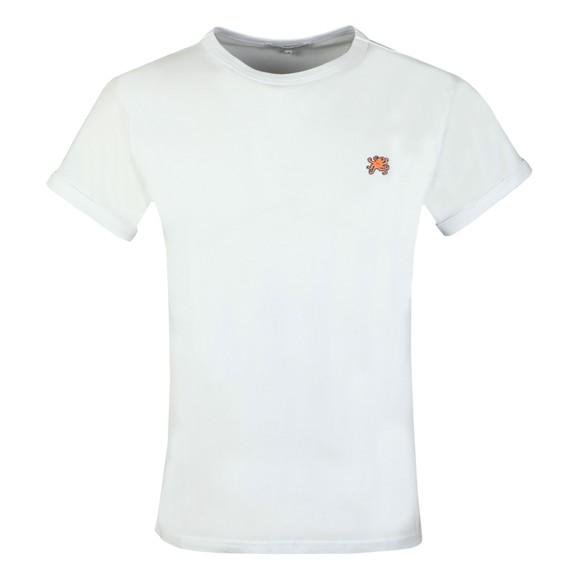 Maison Labiche Mens White Classic Octopus T Shirt