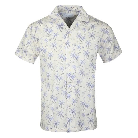 Maison Labiche Mens Off-White Hawaii Shirt