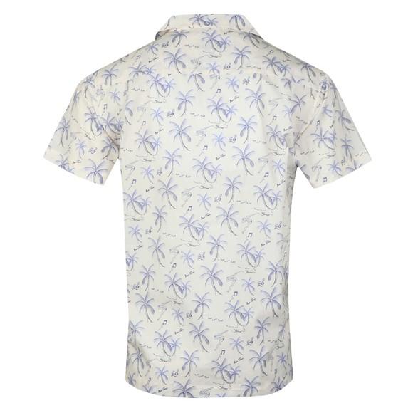 Maison Labiche Mens Off-White Hawaii Shirt main image