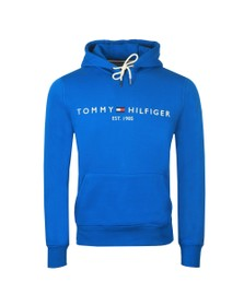 Tommy Hilfiger Mens Blue Logo Hoody