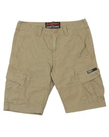Superdry Mens Beige Core Cargo Shorts