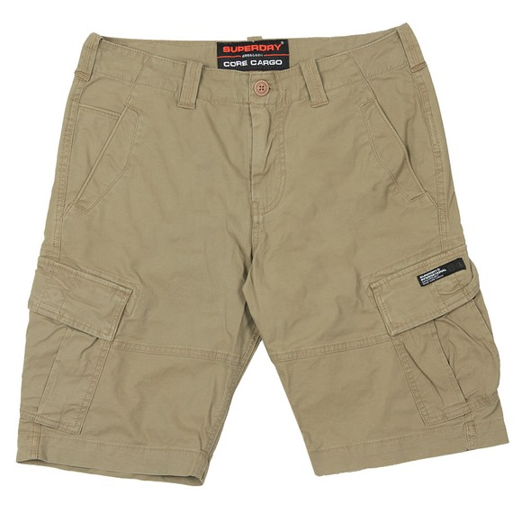 Superdry Mens Beige Core Cargo Shorts main image