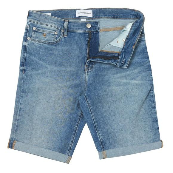 Calvin Klein Jeans Mens Blue Denim Short main image
