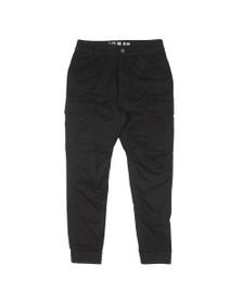 Alpha Industries Mens Black Airman Vintage Cargo Trouser