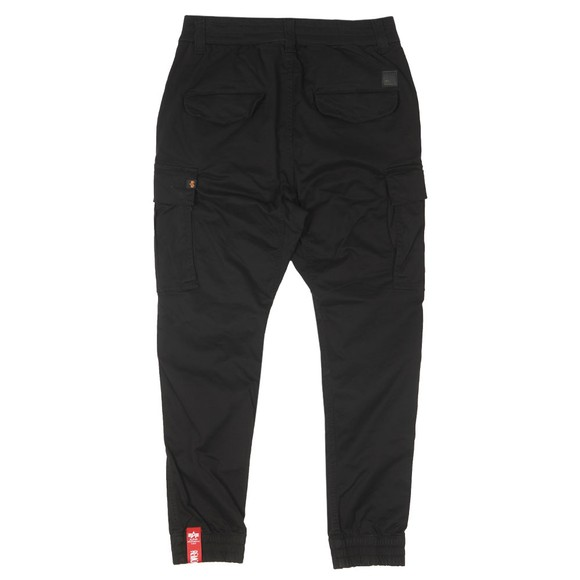 Alpha Industries Mens Black Airman Vintage Cargo Trouser