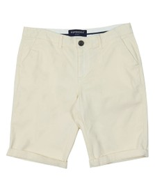 Superdry Womens White City Chino Short