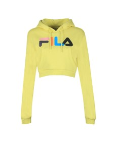 Fila Womens Yellow Jil Crop Hoody