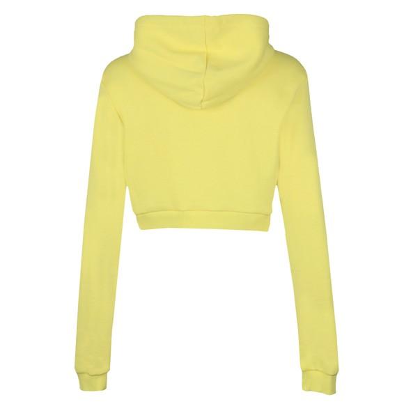 Fila Womens Yellow Jil Crop Hoody main image