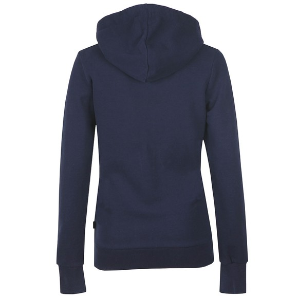Superdry Womens Blue Premium Sequin Entry Hoody main image