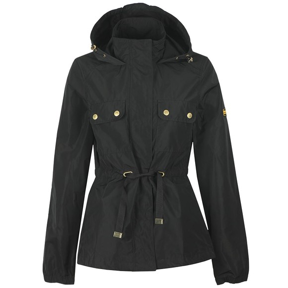 Barbour International Womens Black Curveball Showerproof Jacket
