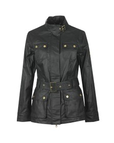 Barbour International Womens Black Bearings Casual Jacket