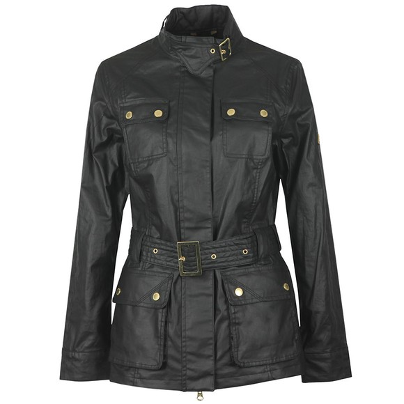 Barbour International Womens Black Bearings Casual Jacket main image