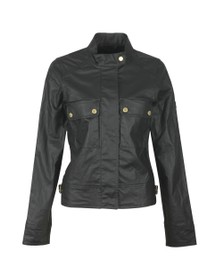 Barbour International Womens Black Trackrace Casual Jacket