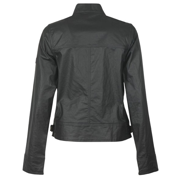 Barbour International Womens Black Trackrace Casual Jacket main image