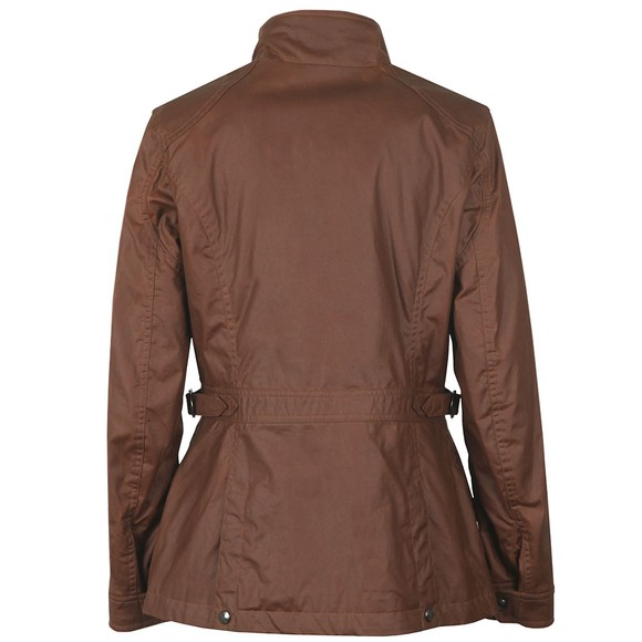 Belstaff Womens Brown Adeline Wax Jacket main image
