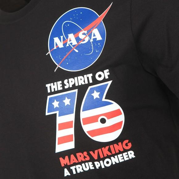 Alpha Industries Mens Black Viking Basic T-Shirt main image