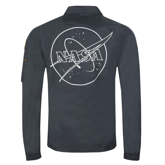 Alpha Industries Mens Blue NASA Coach Jacket main image