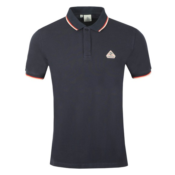 Pyrenex Mens Blue Leyre Polo Shirt main image