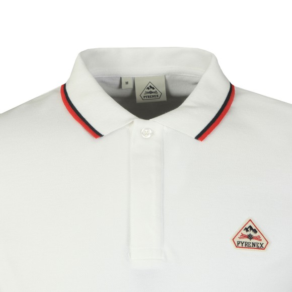 Pyrenex Mens White Leyre Polo Shirt