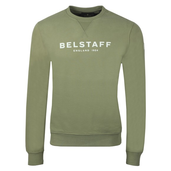 Belstaff Mens Green 1924 Sweatshirt