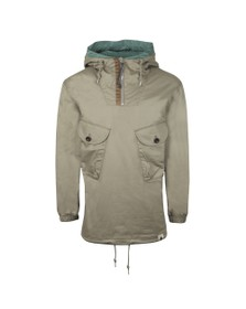 Pretty Green Mens Green Two Pocket Overhead Jacket