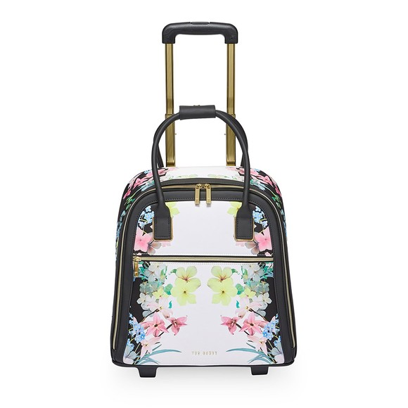 Ted Baker Womens Off-White Dieane Pergola Travel Suitcase Bag